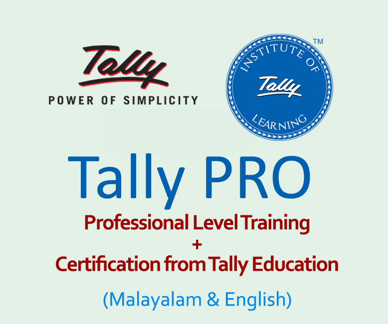 Tally PRO with Tally Certification